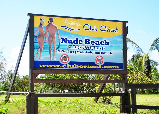 Orient Beach. Nude Beach in Club Orient