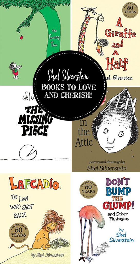 Books to love and cherish by Shel Silverstein!