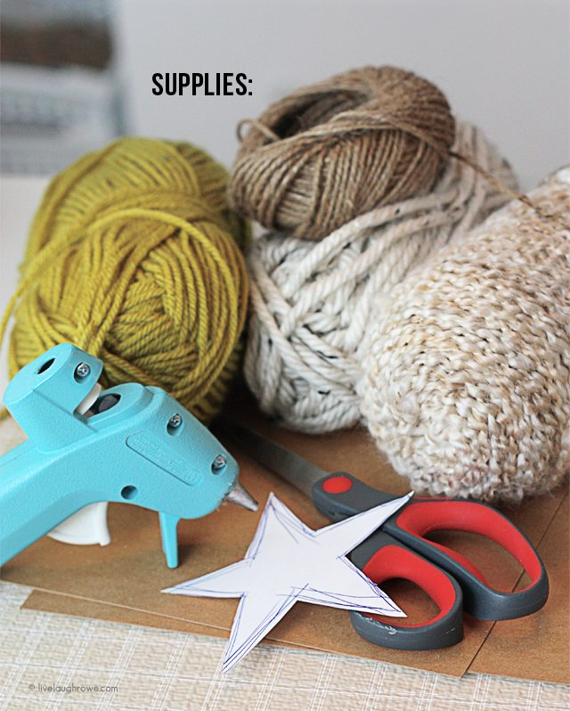 Wonderful Diy Yarn Star Ornaments For Christmas Pictures to pin on ...
