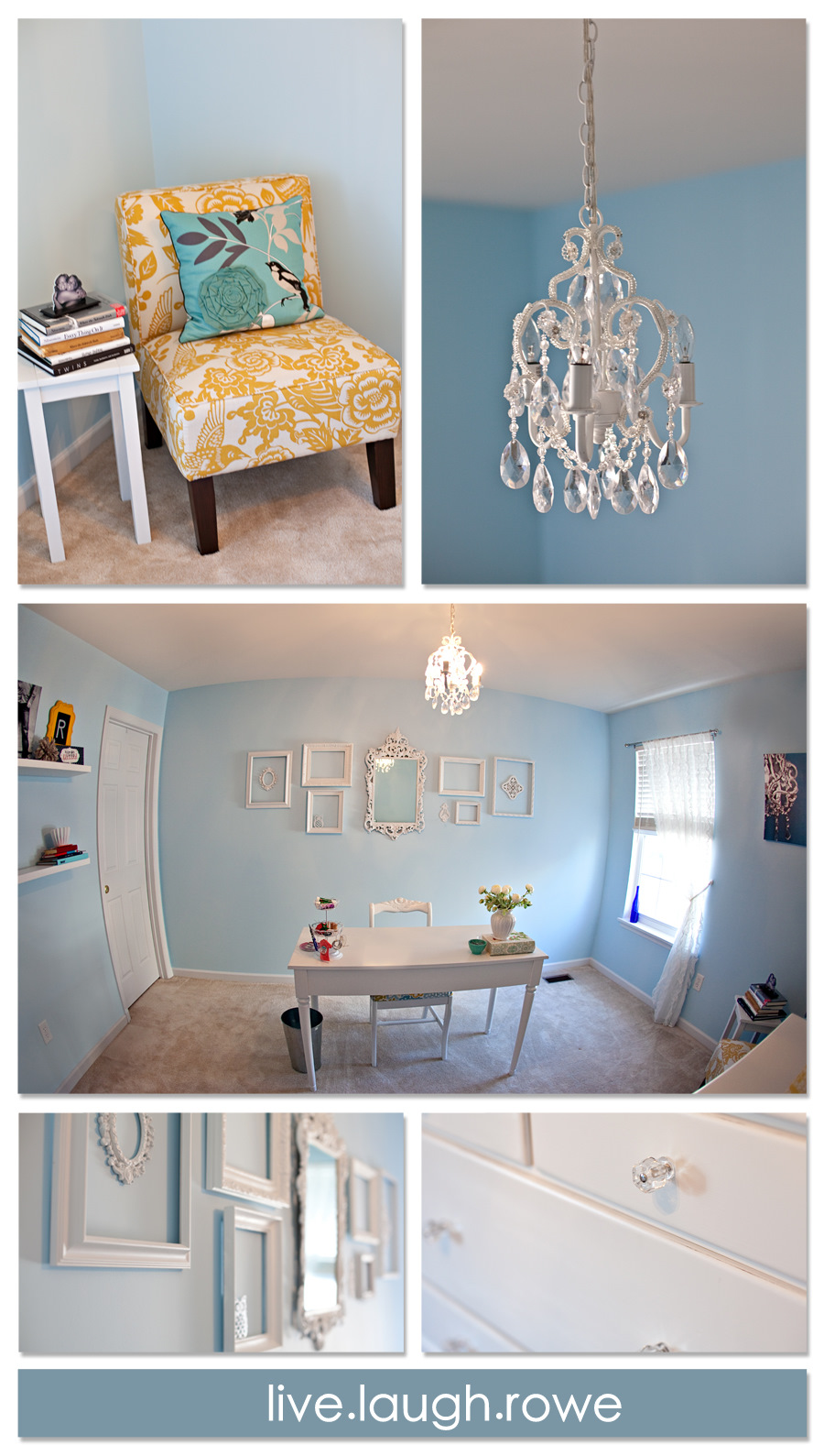 Shabby chic room {makeover}   live laugh rowe