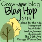 Grow Your Blog // Blog Hop