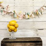 How to Make a Fabric Banner with Scrap Fabric