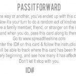 Shine On // Pass It Forward