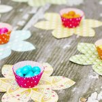 Sweet Spring Favor | Flower Candy Cups