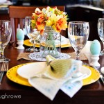 Easter + Spring Tablescape