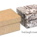 Paper Mache & Washi Tape