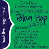 Thee Networking Blog Hop {April Edition}