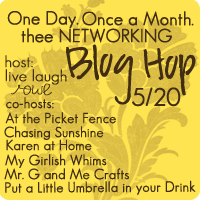 Thee Networking Blog Hop {May Edition}