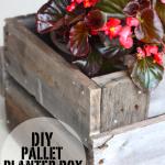 Pallet Planter Box: DIY Project