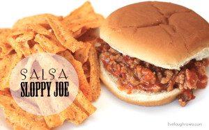 Salsa Sloppy Joes Recipe