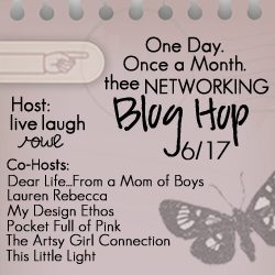 Thee Networking Blog Hop {June Edition}