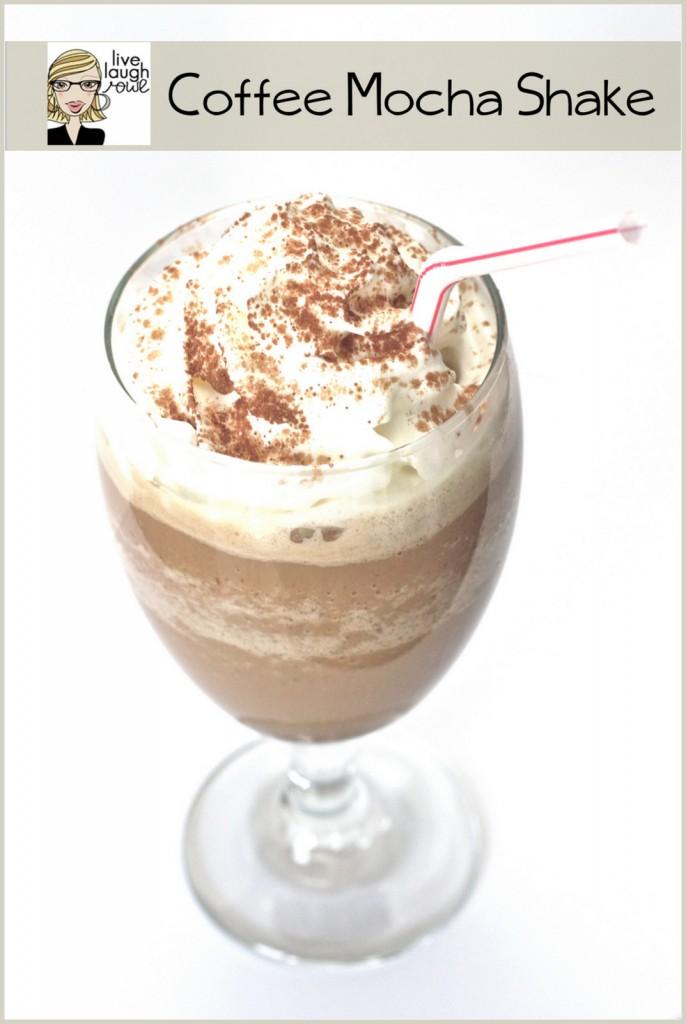 Yummy Coffe Mocha Shake