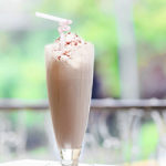 Coffee Mocha Shake. Delicious Frozen Treat!