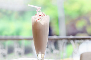 A delicious combination of coffee, chocolate, ice cream and more -- the perfect way to cool off from a hot summer day. Recipe at livelaughrowe.com