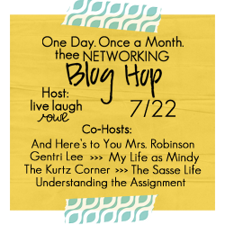 Thee Networking Blog Hop {July Edition}
