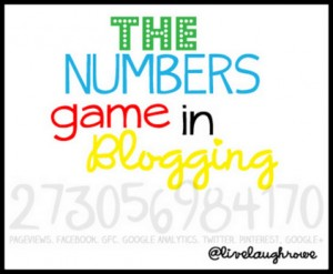 The Numbers Game in Blogging: Pageviews Win!