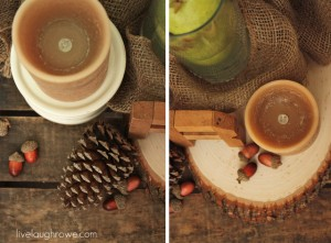 Autumn Decor with Natural Elements & Flameless Candles