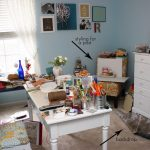 Messy Craft Room | Weekend Project {booo!}