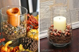 Pottery Barn Inspired Fall Decor.