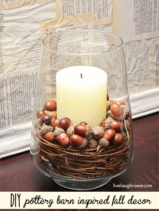 Fall Decorating Inspired by Pottery Barn - livelaughrowe.