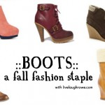 Boots for the Fall Fashionionista