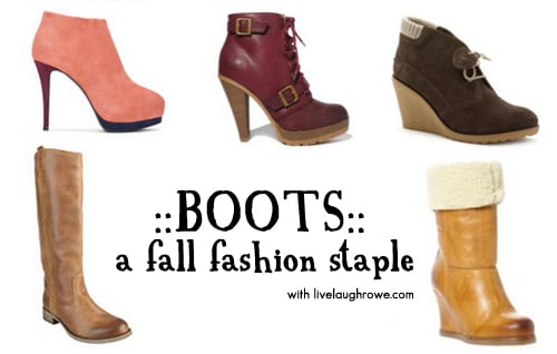 Fall Boots for the fashionista!