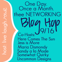 Thee Networking Blog Hop {September Edition}