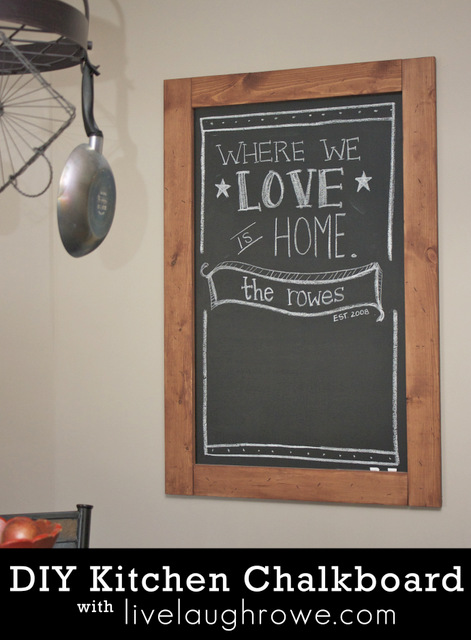 Kitchen chalkboard quotes quotesgram for Kitchen chalkboard