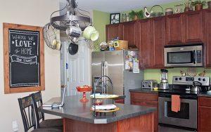 DIY Kitchen Chalkboard. livelaughrowe.com