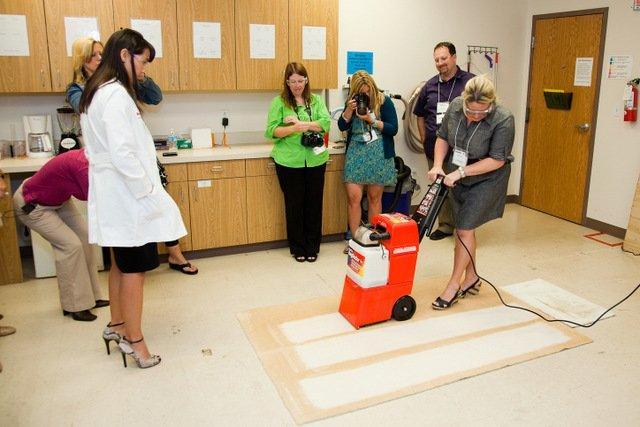 #RugDocTour Kelly Using Equipment Recently I Shared The Carpet Cleaning ...
