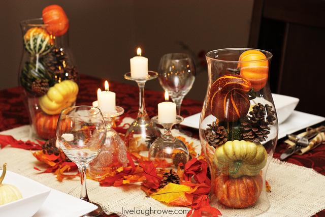 Thanksgiving Tablescape Live Laugh Rowe