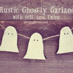 Halloween Garland | Rustic and Ghostly