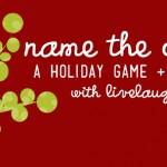 Name the Carols | A Holiday Game + Printable