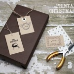 Christmas Gift Tags | Printable