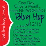 Thee Networking Blog Hop {December Edition}