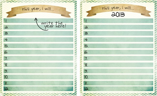 write the year