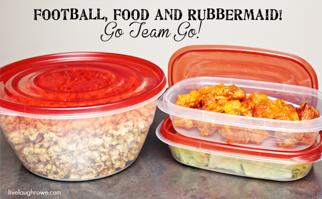 Score a Touchdown with Rubbermaid via LiveLaughRowe.com #rubbermaid #storage
