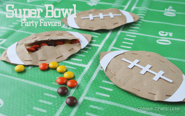 Super bowl party favors live laugh rowe for Super bowl party items