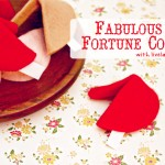 Fabulous Felt Fortune Cookies