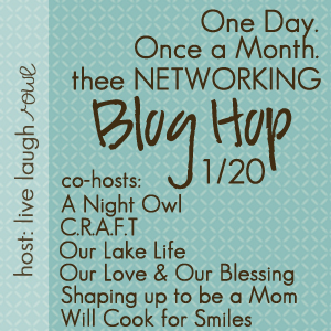 Thee Networking Blog Hop {January Edition}