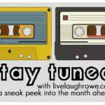 Stay Tuned | A Sneak Peek into March