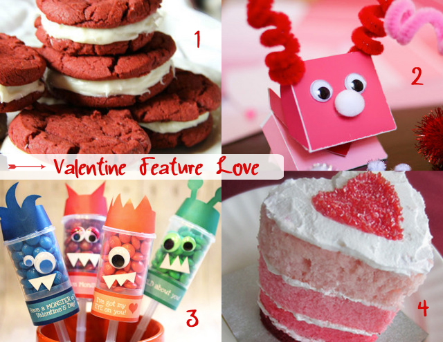 valentine features