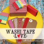 Washi Tape Giveaway | Downtown Tape {love}