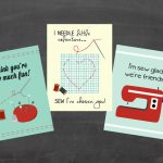 Printable Valentine Cards | Sew Adorable!