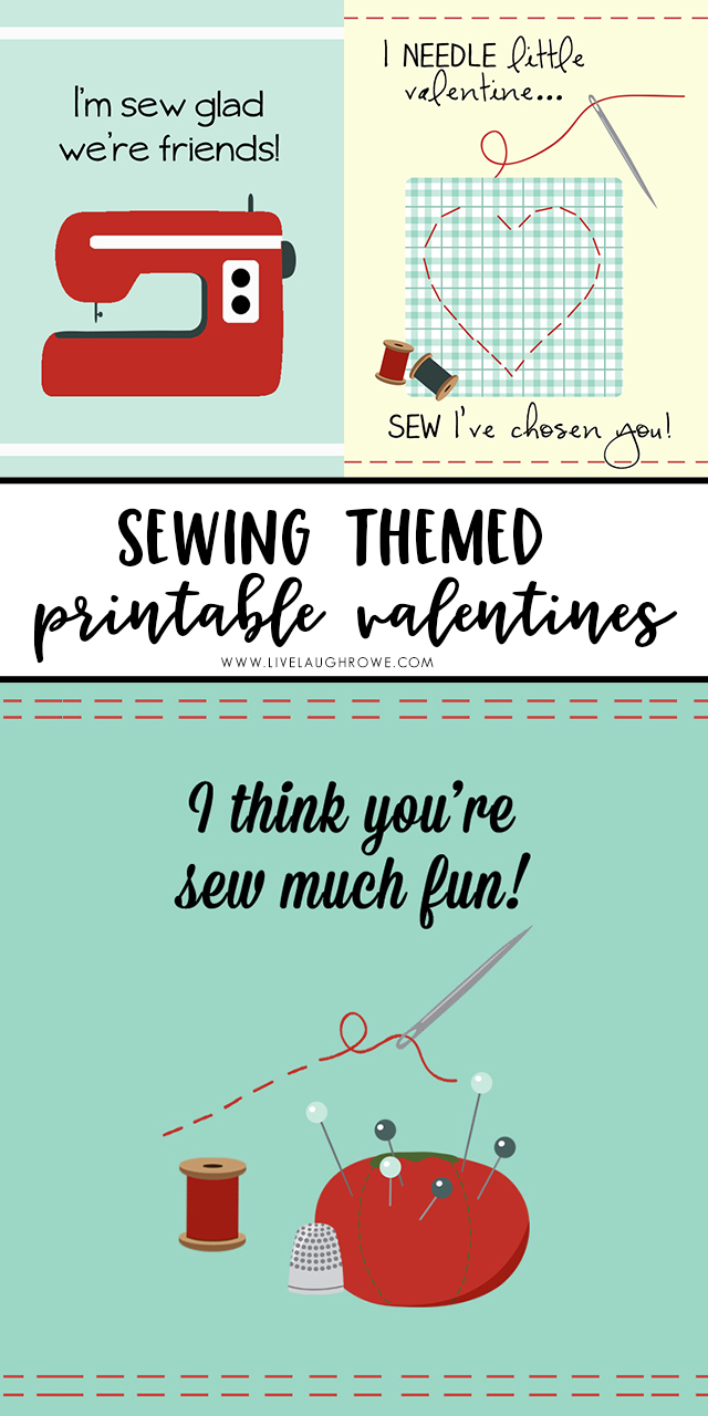 picture relating to Printable Valentine titled Printable Valentine Playing cards Sew Cute! - Are living Giggle Rowe