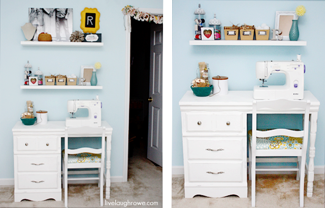 upcycling desk painted hometalk paint a and painting sewing milk repurposing furniture