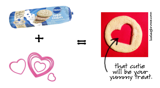 cookie to hearts