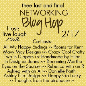 Thee Networking Blog Hop | February Edition