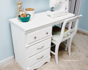 New Addition to my Craft Room |  A Sewing Desk
