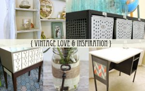 Vintage Inspiration | Live Laugh Linky #50